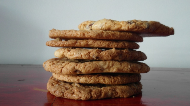 !Por Fin: Chocolate Chips Cookies!