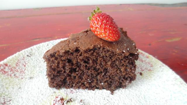 Ponqué de Chocolate Negro