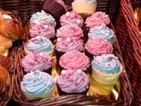chocolates en forma de cupcakes