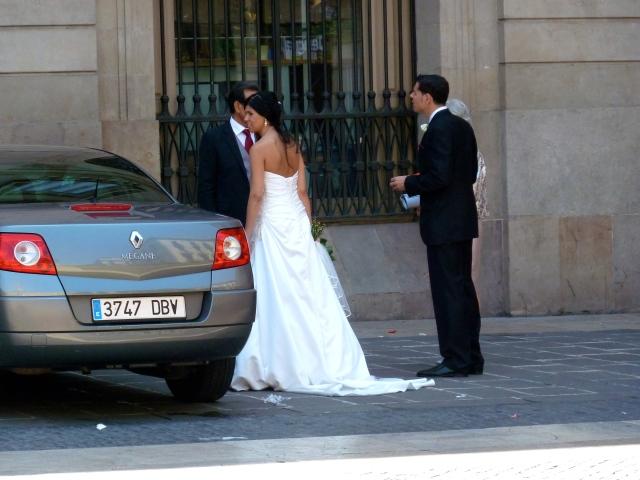 una novia en Barcelona <3