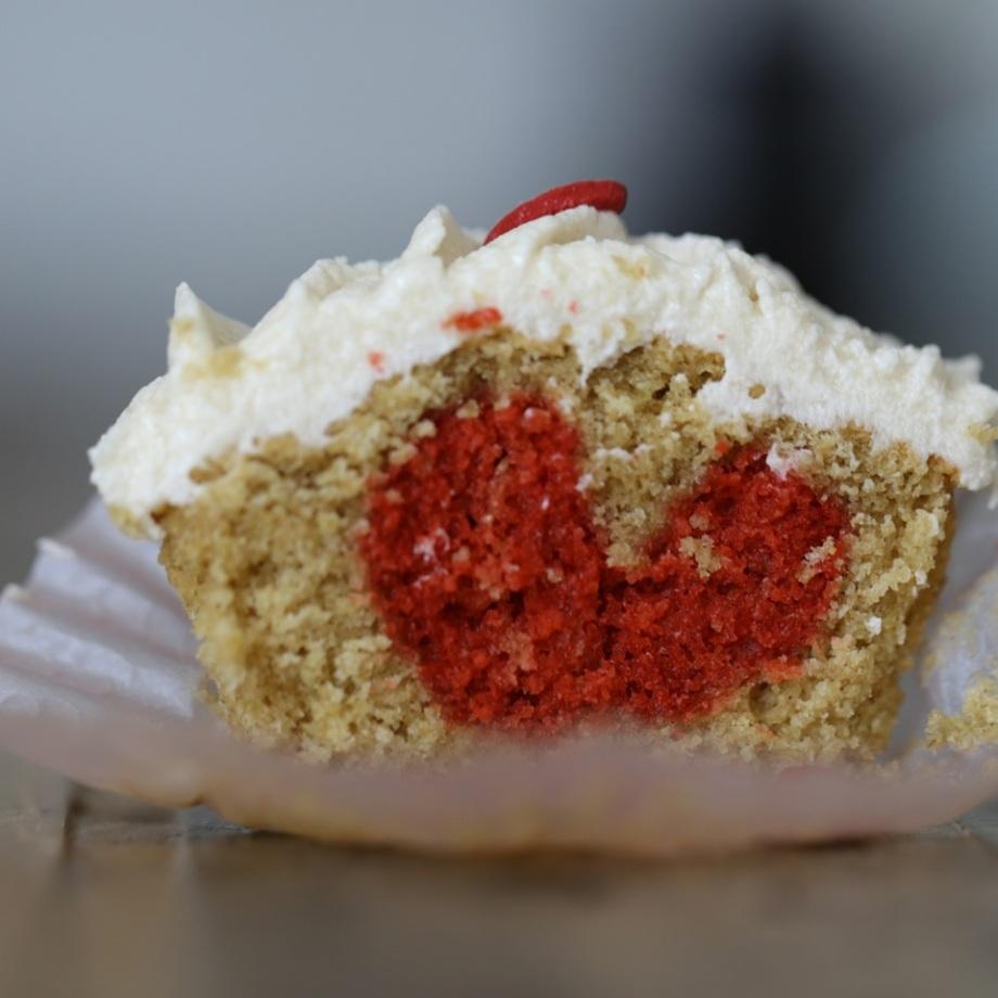 Cupcakes de SanValentín